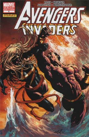 Avengers Invaders #5 Deodato Retail Variant 1:25 Alex Ross Marvel comic book